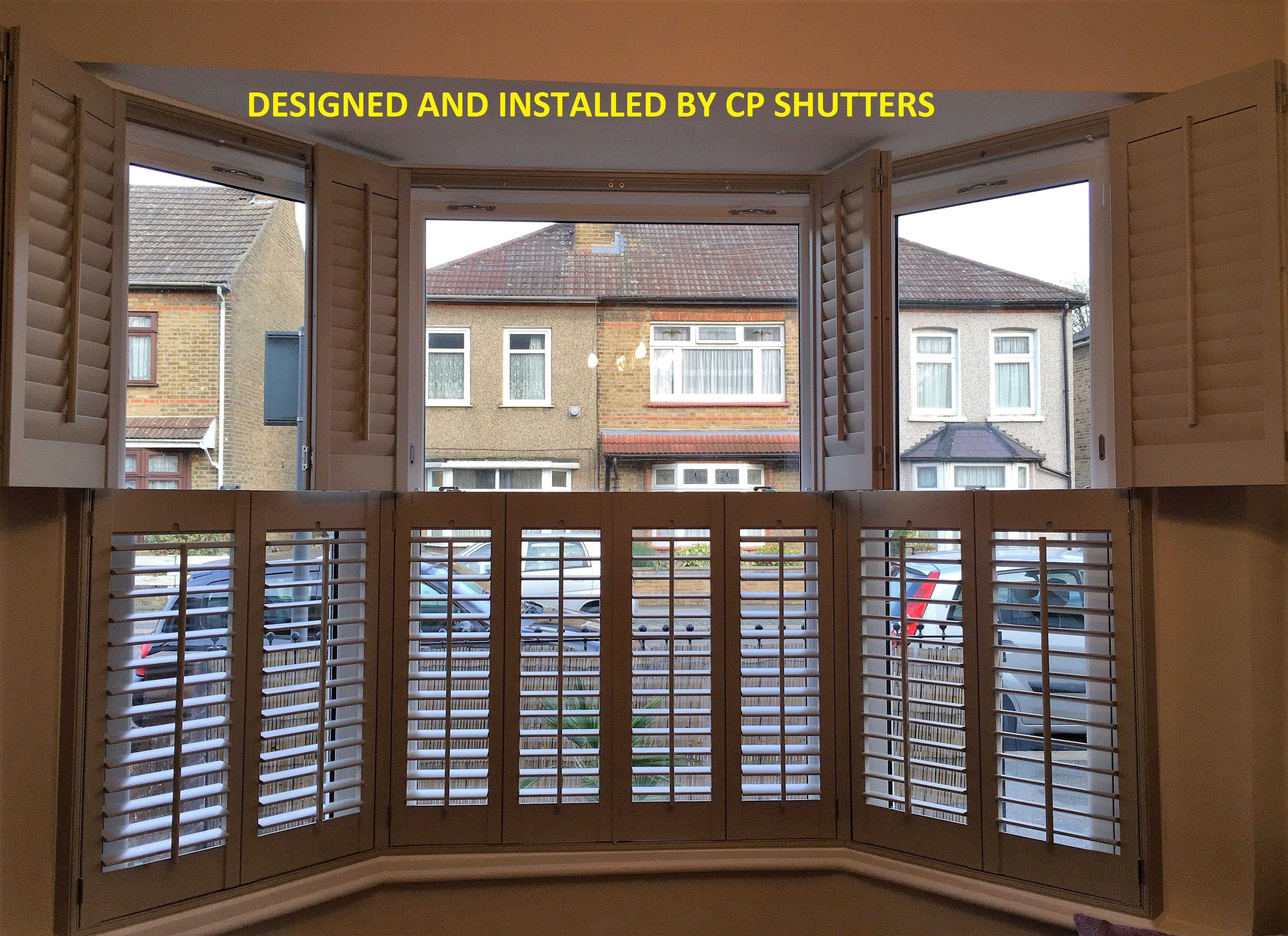 Wood shutters essex plantation shutters essex interior - Unfinished wood shutters interior ...